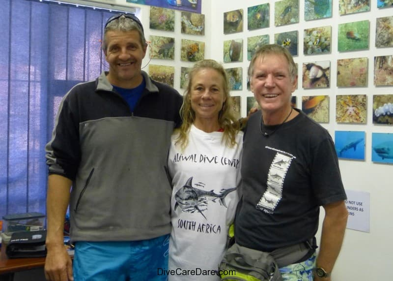 Aliwal Dive Centre owner Basie Ackermann