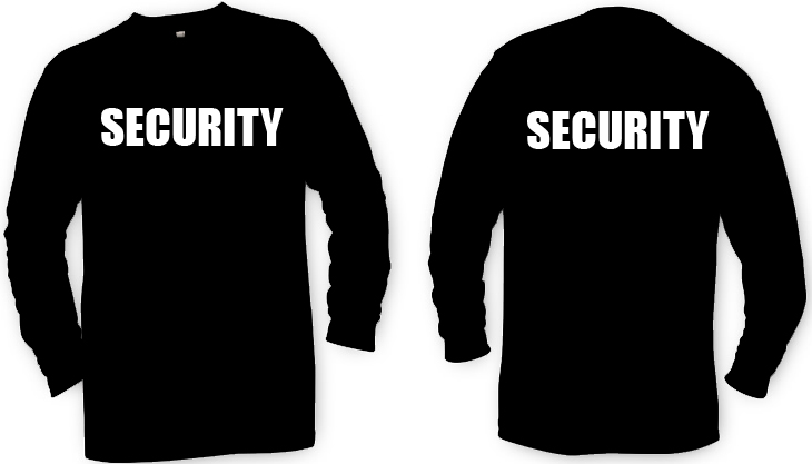 Sweatshirt Crewneck Security