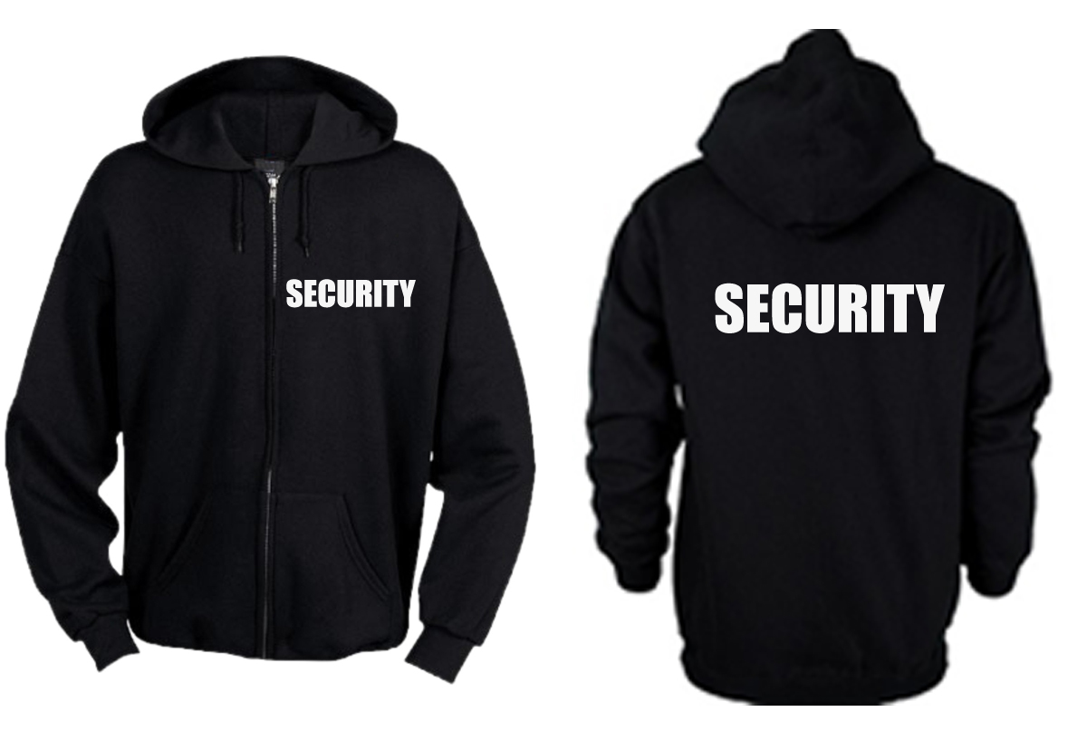 Zipper Hoodie Security
