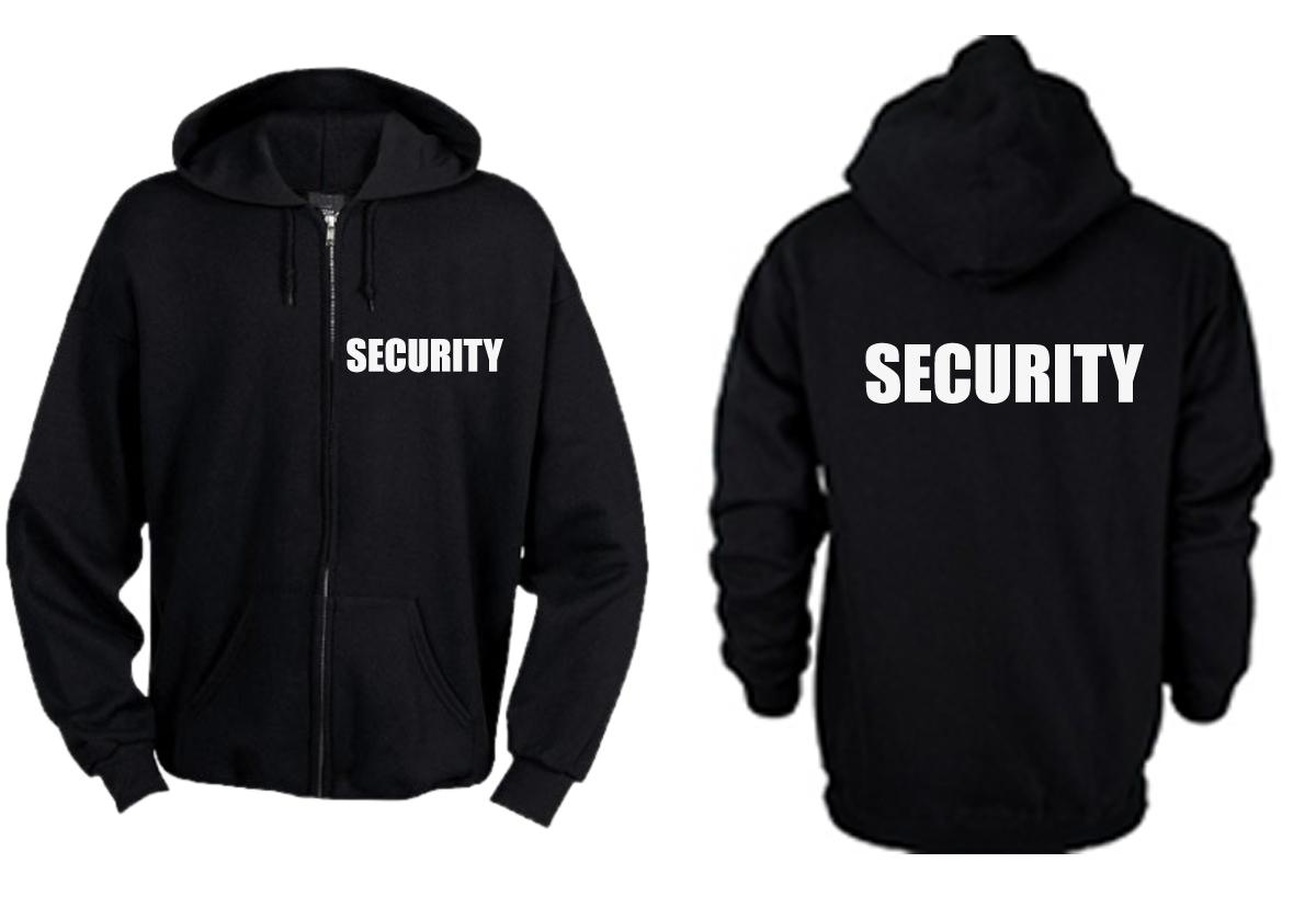 Zipper Hoodie Security