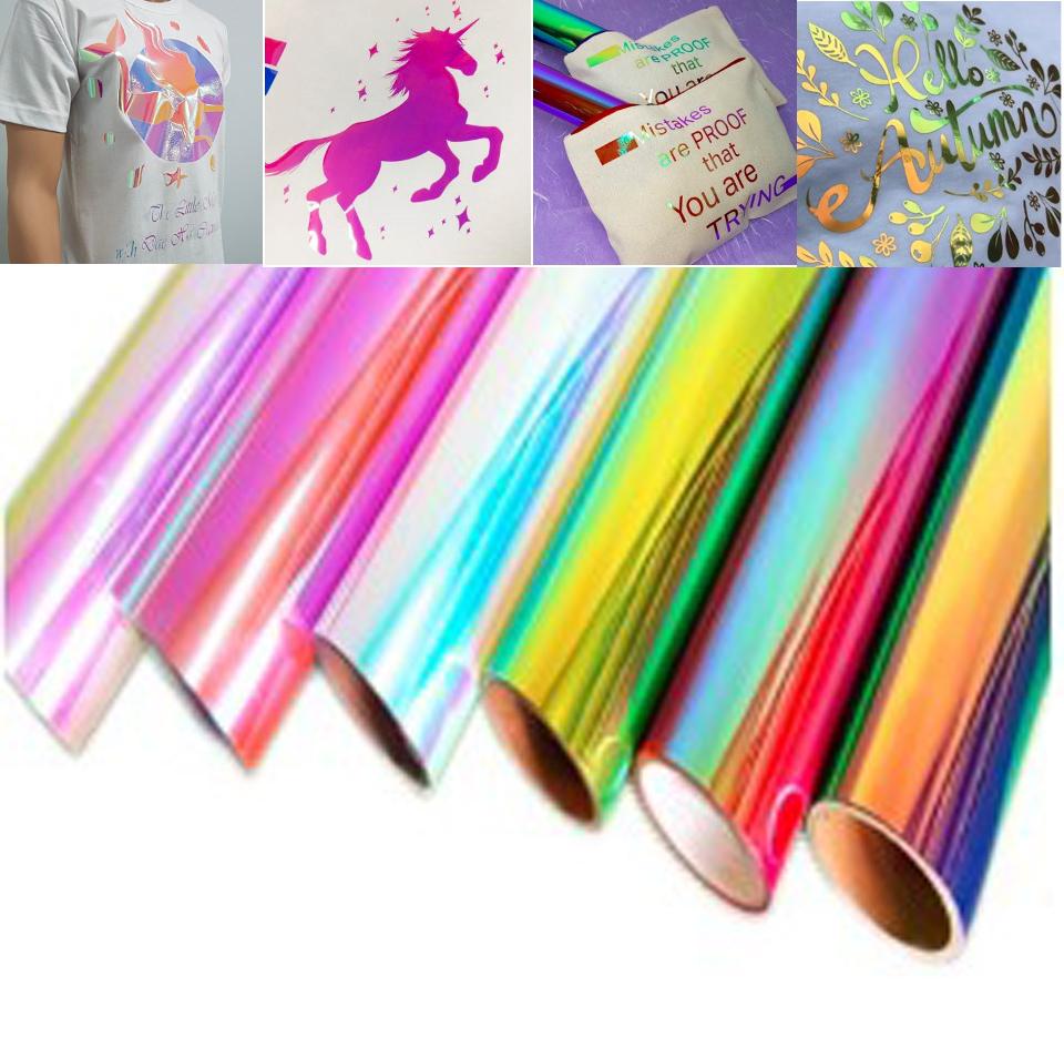 Chameleon Rainbow Heat Transfer Vinyl Main 2