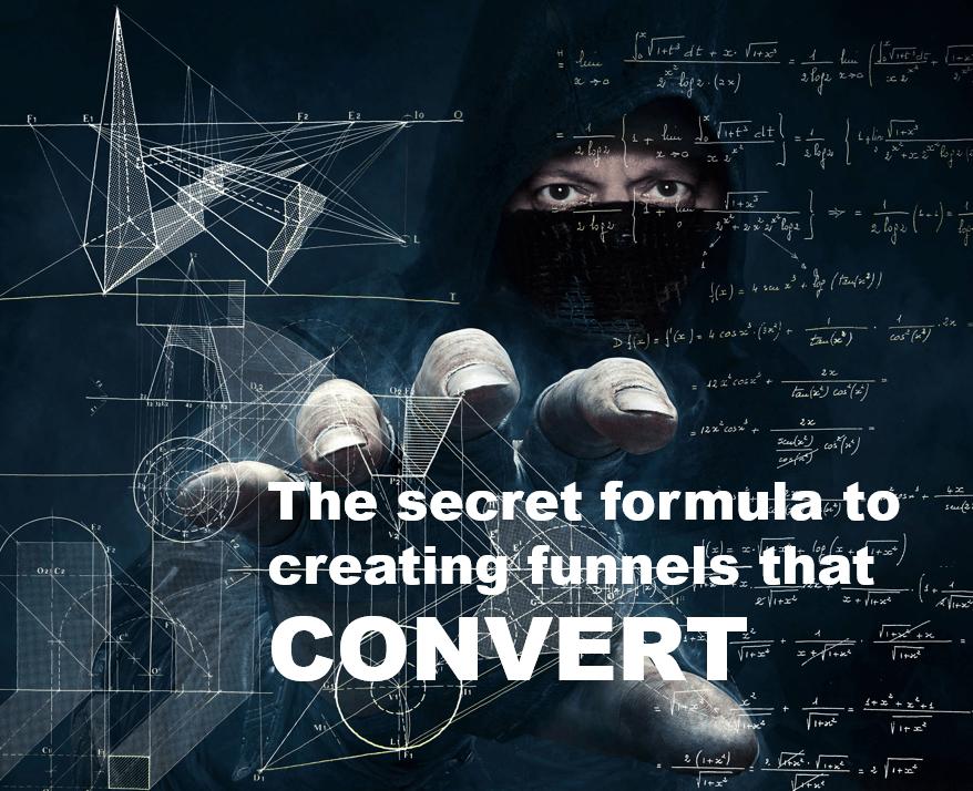 Secret Formula to Creating Funnels that Convert