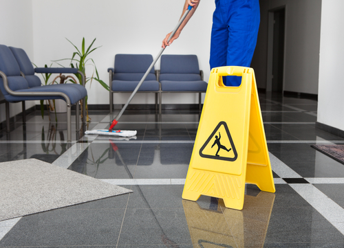 What is the difference between residential and commercial cleaning
