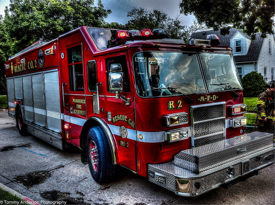 Matt Trepczyk,Heavy Equipment Operator, Rescue 2 Milwaukee Fire Department
