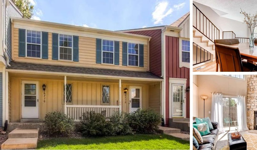 Sold! Quaint Dutch Ridge Townhome