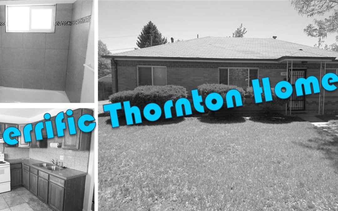 Sold!  Terrific Ranch Home in Thornton