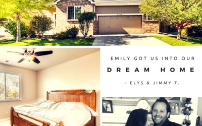 Jimmy & Elys: Emily got us into our dream home.