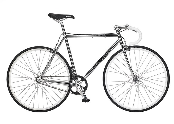 Bianchi Pista the perfect chrome plated fixie | Special $1299.00