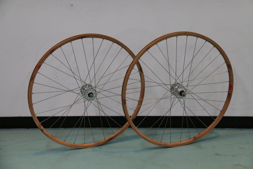 Fixed Gear/Track/Single Speed Wood Grain Wheelset