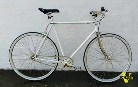 Dever Urban Fixie Bike - White