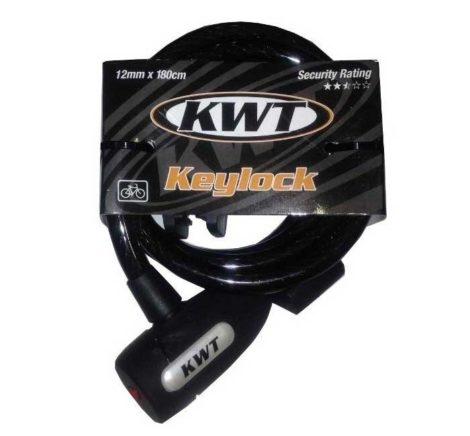 KWT 150x8MM KEY CABLE LOCK