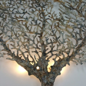 Sea Fan Wall Sconce