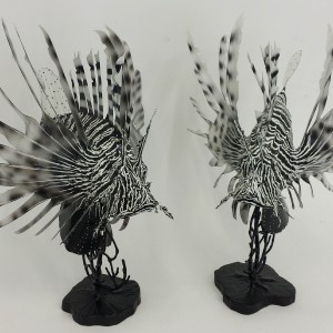 Lion Fish Sculptures
