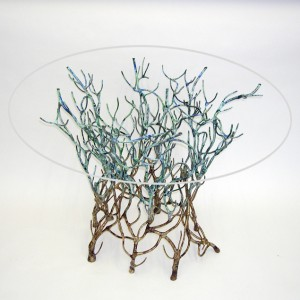 Round Coral Table