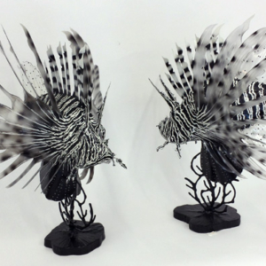 Lionfish Sculptures