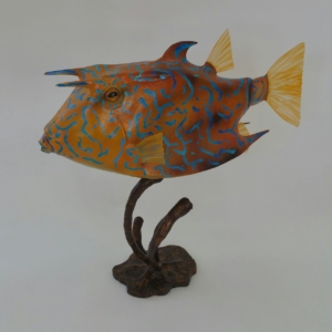 Cowfish Sculpture