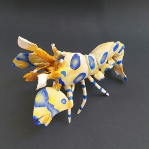 Harlequin Shrimp Sculpture