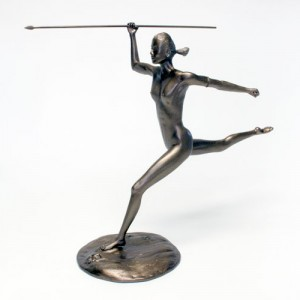 Woman Sculpture [Steel-Epoxy Composite]