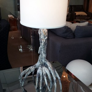 Silver Mangrove Table Lamp