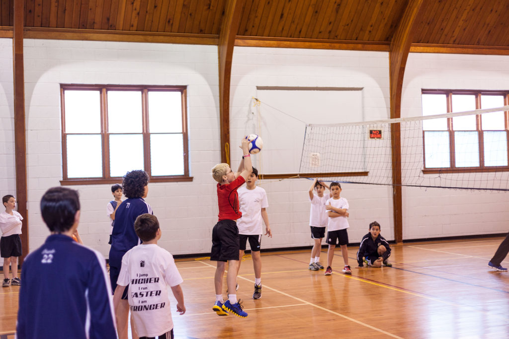 Athlete Fit Volleyball