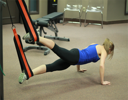 photo of patient participating in Athletic Performance Training