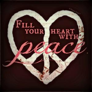 peace heart