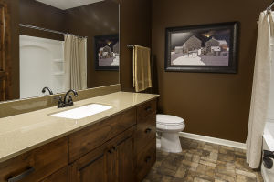 27 Walkout Level Bathroom