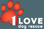 1 Love Dog Rescue Logo