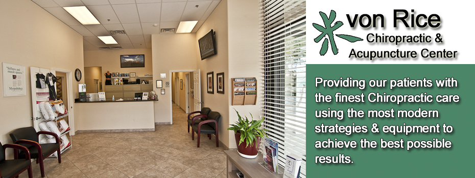 Northeast Phoenix Chiropractor and Acupuncture - von Rice Chiropractic 85032