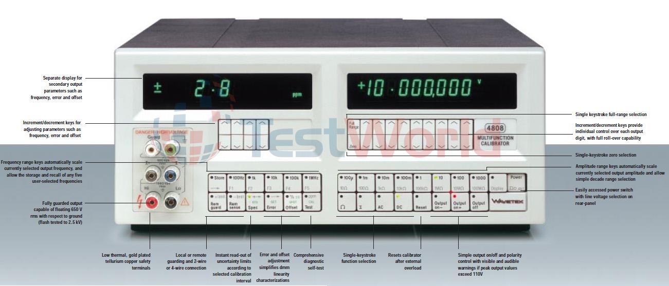 Wavetek 4808 Multifunction DMM Calibrator.