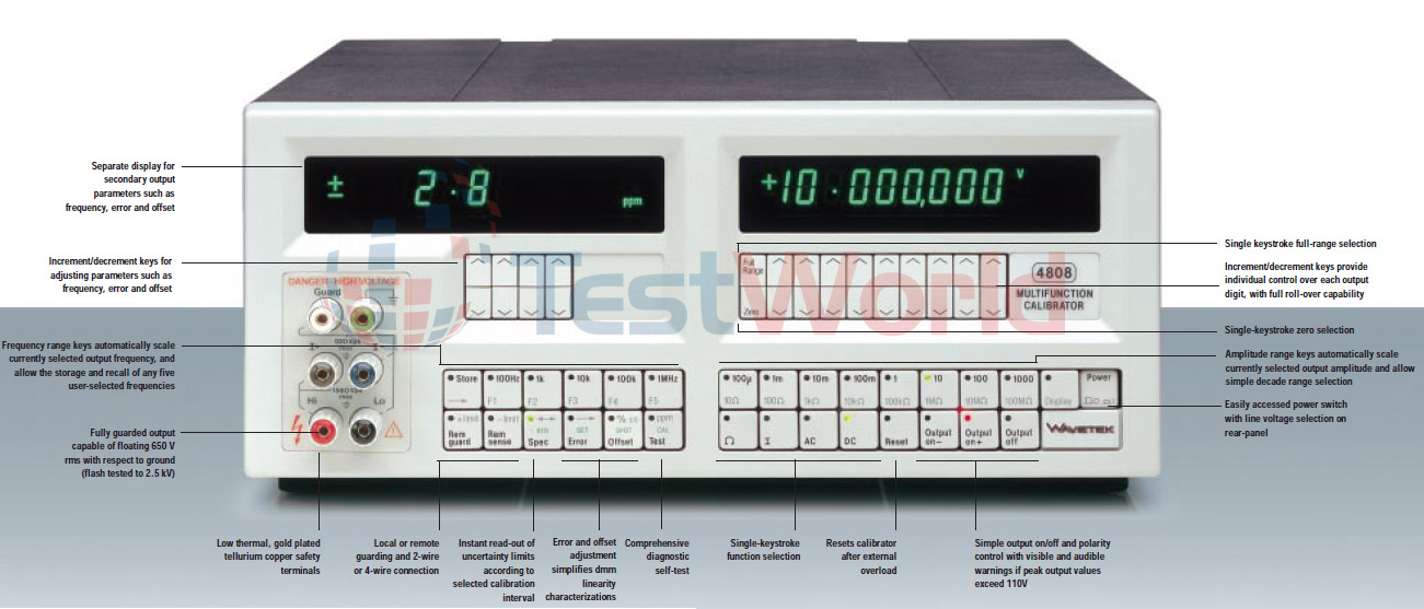 Wavetek 4808 Multifunction DMM Calibrator.