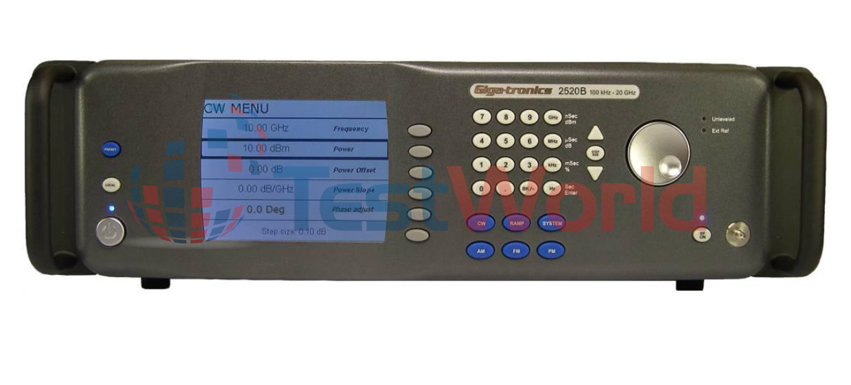 Gigatronics 2520B Microwave Signal Generator, 2 GHz - 20 GHz