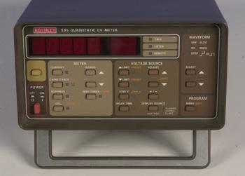 Instructional Manual: Keithley 595 Quasistatic C-V Meter