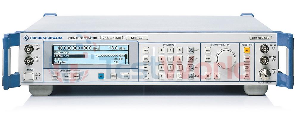 Rohde & Schwarz SMR Microwave Signal Generators