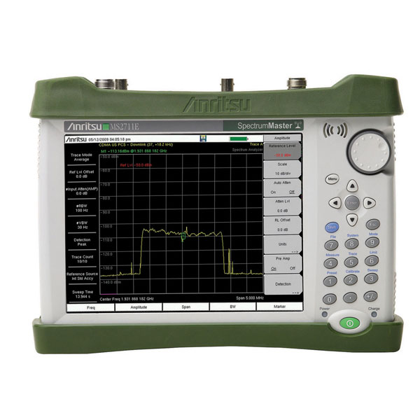 Anritsu MS2711E 3 GHz Handheld RF Spectrum Analyzer