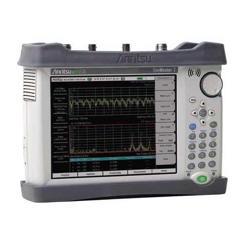 Anritsu S332E Site Master 2 MHz - 4 GHz Cable, Antenna, & Spectrum Analyzer