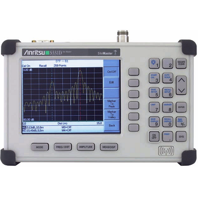 Anritsu Site Master S331D 25 MHz - 4 GHz Cable & Antenna Analyzer