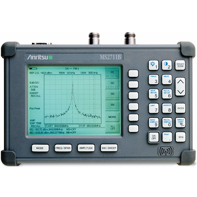 Anritsu MS2711B 100 kHz - 3 GHz Handheld Spectrum Analyzer