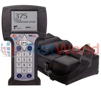 Emerson Process (Rosemount) 375 Field Communicator w/ Foundation Fieldbus & HART.