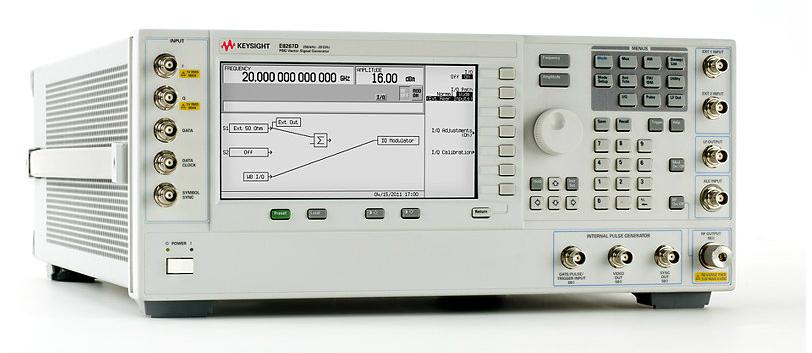 Keysight (Agilent) E8267D PSG Vector Signal Generator, up to 44 GHz