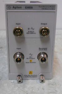 Keysight (Agilent) 83495A Optical/electrical clock recovery module with 3.5 mm (m) connector