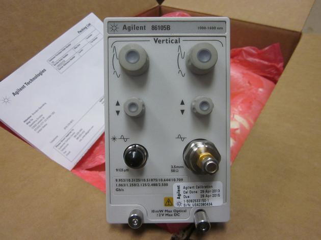 Keysight (Agilent) 86105B 15 GHz optical / 20 GHz electrical module