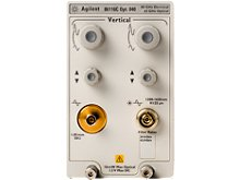 Contact TestWorld to get the best pricing on a used/refurbished Keysight (Agilent) 86116C 025 40 GHz Optical/ 80 GHz Electrical Module Oscilloscope, 4 channels, 2.25 GHz, 8 Gsa/s. Rental and financing/lease options available.