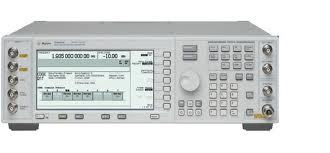 Agilent (HP) E4422A Analog RF Signal Generator, 250 kHz to 4 GHz and Wideband FM and Phase Modulation