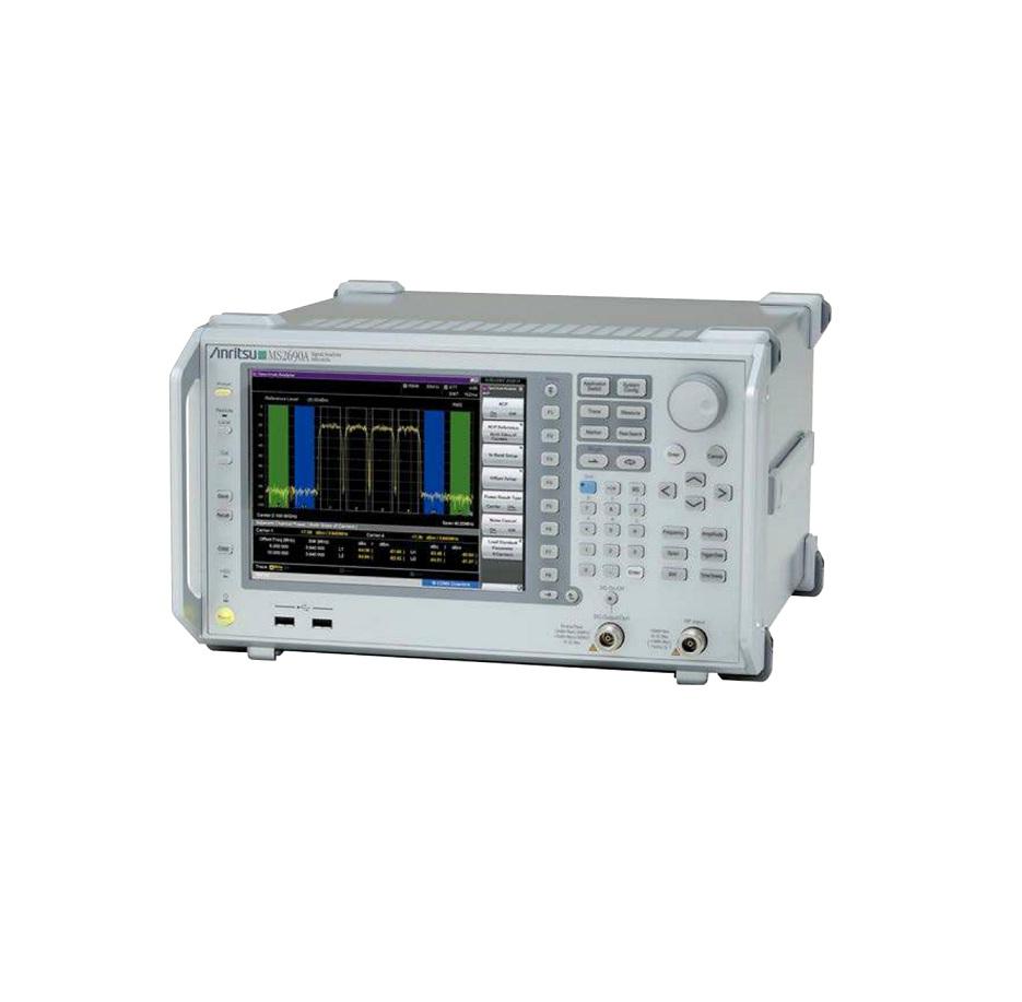 Anritsu MS2690A Signal Analyzer, 50 Hz to 6.0 GHz, 0.3 dB Total Level Accuracy
