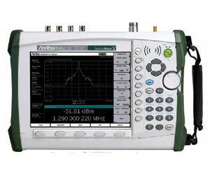Anritsu MS2722C 9 kHz - 9 GHz Handheld Spectrum Analyzer for Measuring Field Strength and Occupied Bandwidth