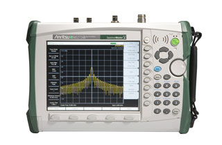 Anritsu MS2724C 20 GHz Handheld Spectrum Analyzer for Measuring Carrier-to-Interference (CI)