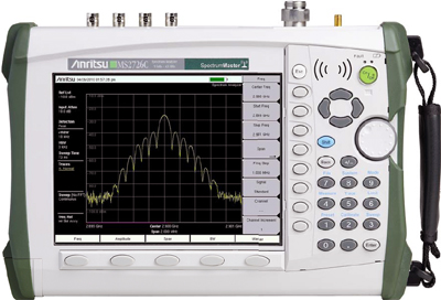 Anritsu MS2726C 9 kHz - 43 GHz Handheld Microwave Spectrum Analyzer