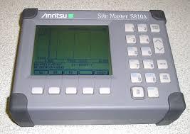 Anritsu S810A Site Master - Antenna and Coax/Waveguide Analyzer, 10 GHz