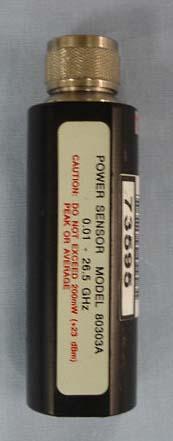 Gigatronics 80303A CW Power Sensor, -70 dBm to +20 dBm, 10 MHz to 26.5 GHz